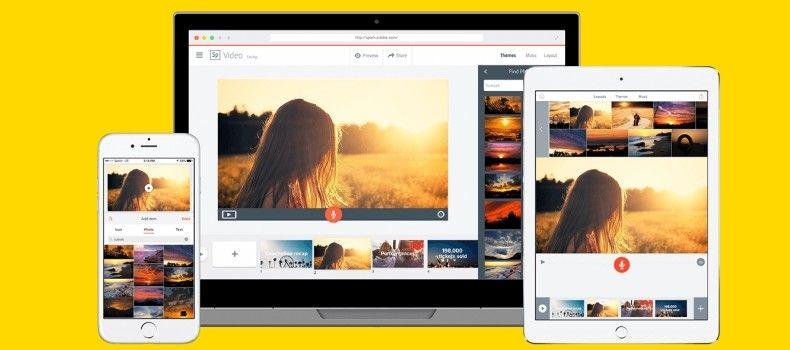 Adobe Spark - Programa para criação de vídeos