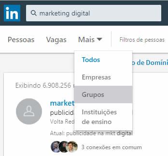 Marketing no LinkedIn - Grupos de Discussão