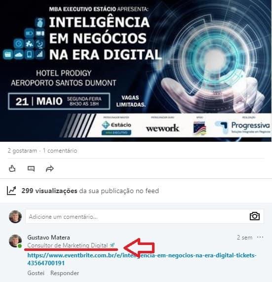 Marketing no LinkedIn - A importância da Headline