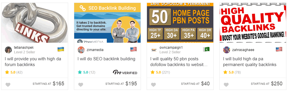 Comprar Backlinks