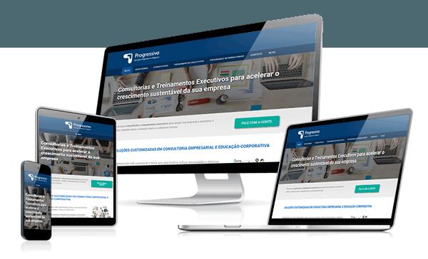 Presença Online - Tenha um site profissional