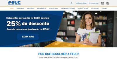 Desenvolvimento de Site Para Instituições de Ensino