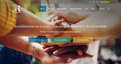 Criação de Site para ONG